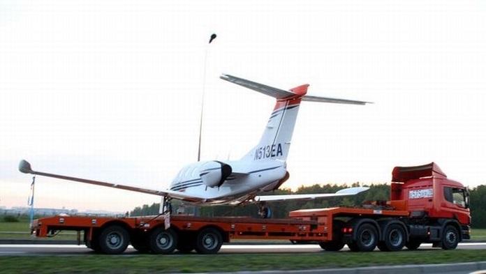 Как перевезти частный самолет?