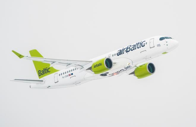 Авиаоператор AirBaltic переходит на воздушные суда CSeries