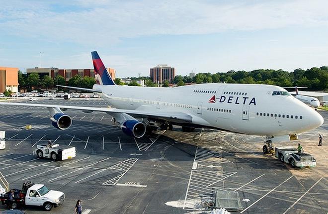 Delta Air Lines планирует вывести из парка к 2018-му году все Boeing 747