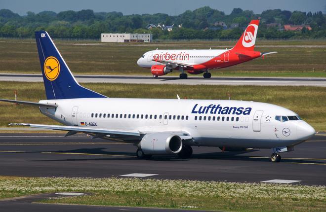 Lufthansa купит львиную долю активов Air Berlin