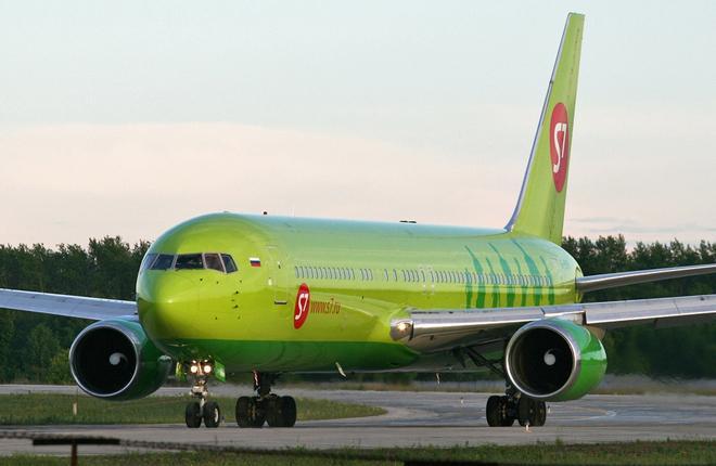 Авиаоператор S7 Airlines приостановил эксплуатацию Boeing 767-300ER