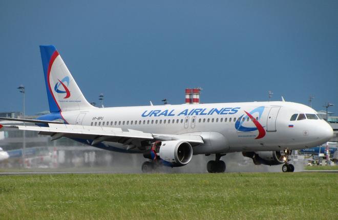 Объем авиаперевозок Уральских авиалиний вырос на четверть