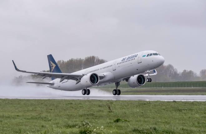 В СНГ прошла стартовая поставка самолета Airbus A-321neo