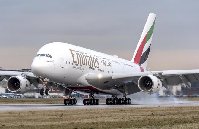 Авиаперевозчик Emirates заказал 36 самолетов А-380