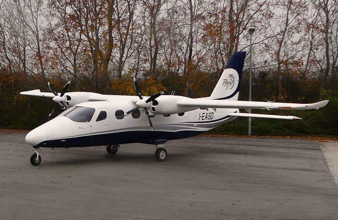 Первый полет выполнил 2-й летный образец Tecnam P-2012