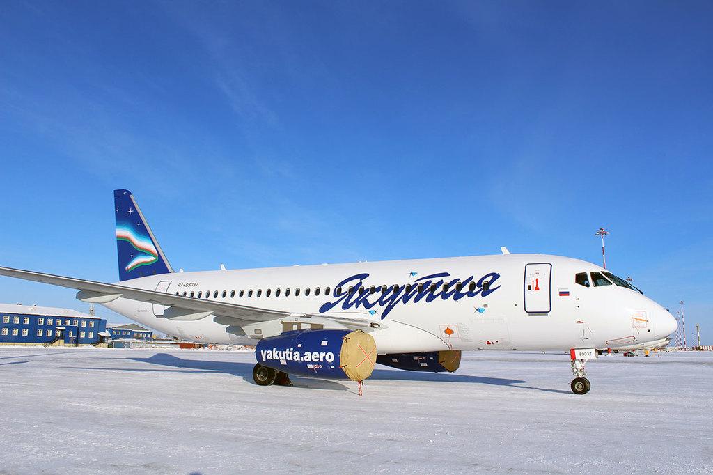 Частный самолет из Якутска
