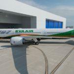 Первый Boeing 787-10 Dreamliner для Eva Air