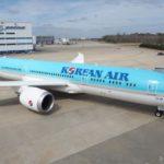 Дружественный жест Korean Air  для американского производителя на авиасалоне в Ле Бурже