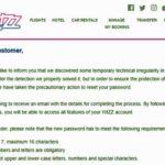 Вниманию пассажиров WizzAir