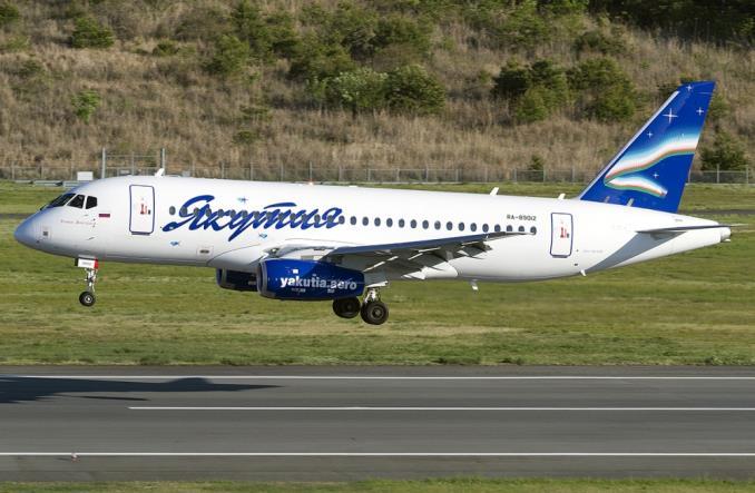 YakutiaAirlines SukhoiSuperjet100