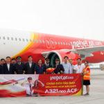 Первый в мире Airbus A321neo ACF для VietJet