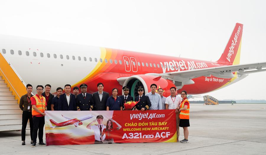 первый в мире Airbus A321neo ACF