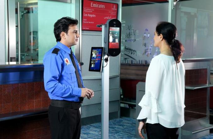 Биометрическая идентификация в аэропорту Дубай