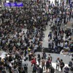 Движение общественного транспорта в аэропорт Гонконга восстановлено