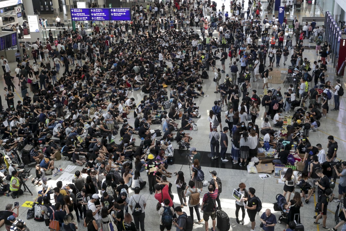 аэропорт гонконга до пандемии
