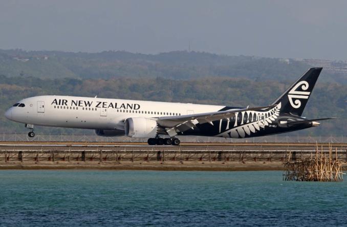 787-9 Dreamliner компании AirNewZealand