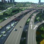 Новая дорога в аэропорт Шэньчжэня потребовала строительства гигантского виадука