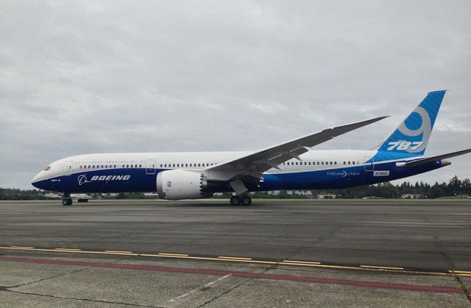 Boeing 787-9 для Монголии