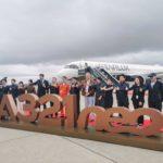 Первый самолет нового тайваньского перевозчика Starlux Airlines