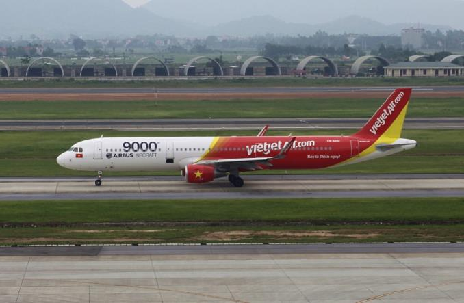 A321 авиакомпании VietJet