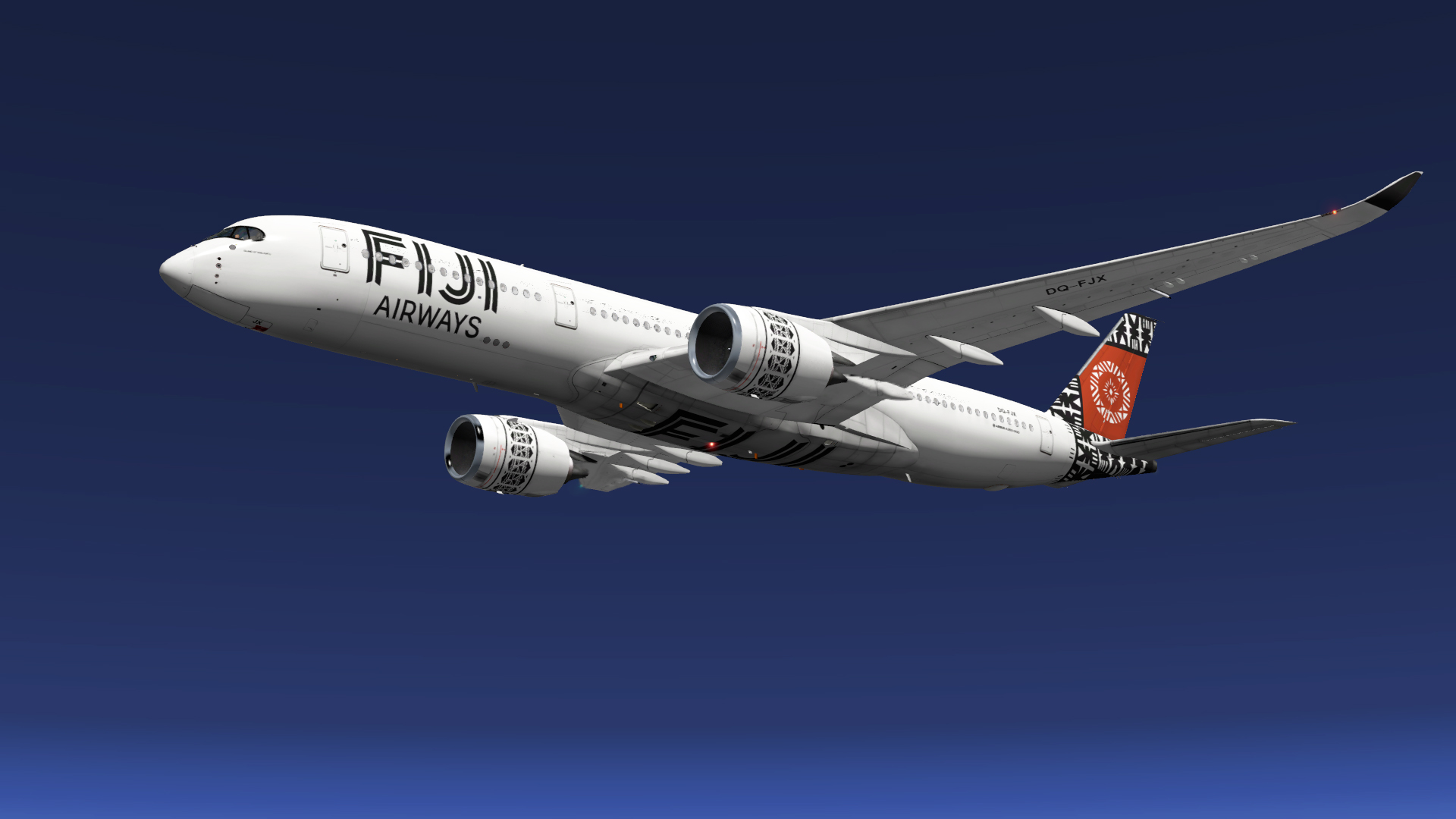 Airbus A350-900 для Fiji Airways
