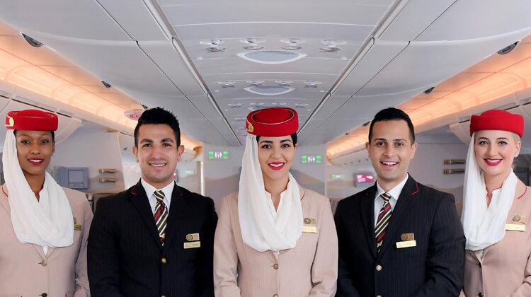 Бортовой экипаж Emirates