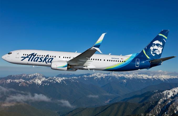 B758 компании Alaska Airlines