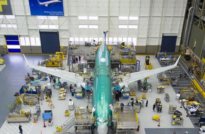 Производственная линия 737