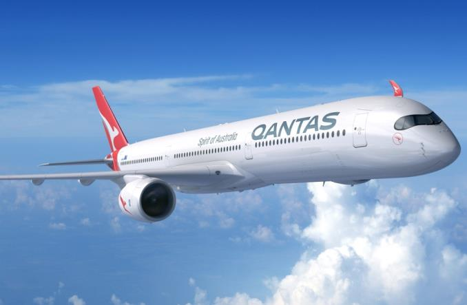 Визуализация A350-1000 для Qantas