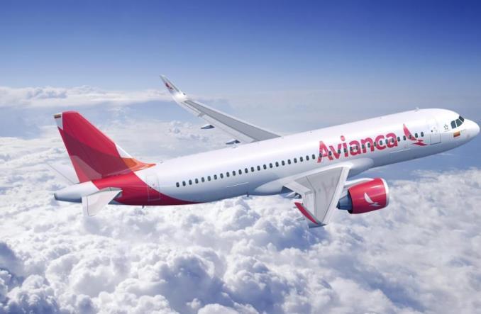 Aibus A320neo компании Avianca