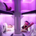 Air New Zealand намерена предложить пассажирам двухярусные кровати на дальних рейсах