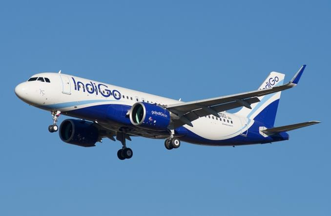 A320neo авиакомпании IndiGo