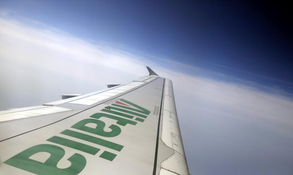Alitalia  будет национализирована, а ее флот сокраще в четыре раза