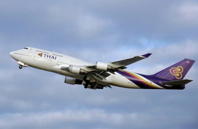 Boeing 747-400 авиакомпании Thaiairways