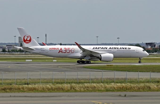 A350 авиакомпании JAL