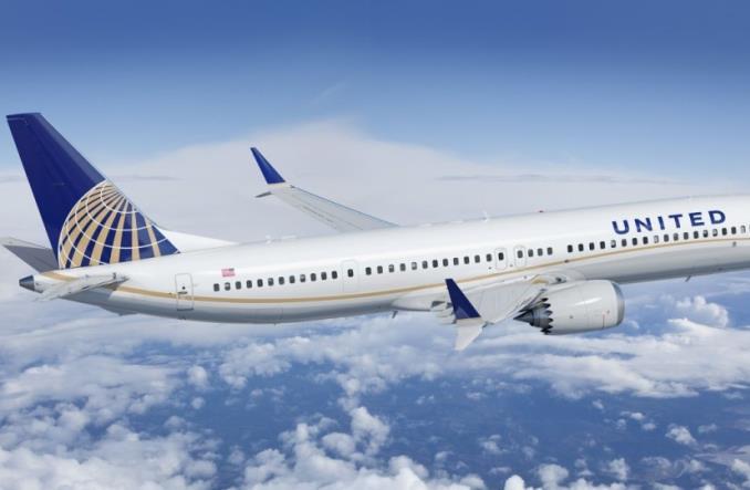 Boeing Max 9 авиакомпании United