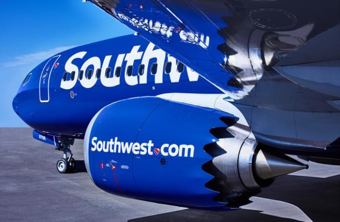 B737 авиакомпании Southwest Airlines