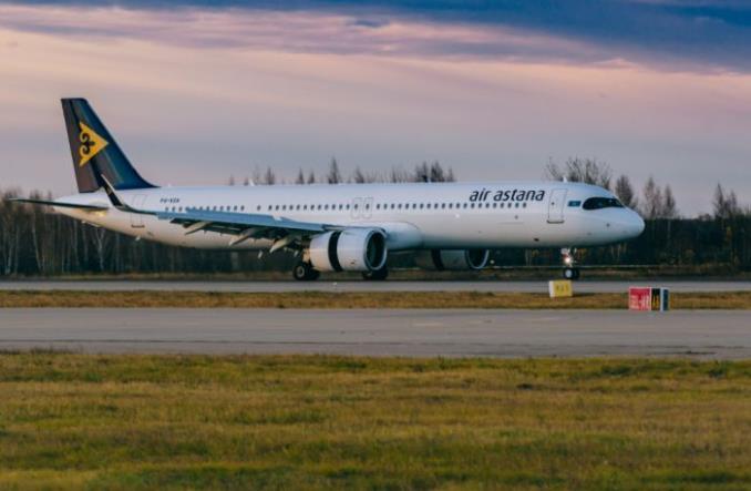Airbus A320 авиакомпании Air Astana
