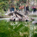 Обломки B-52 в центре Ханоя - необычный мемориал