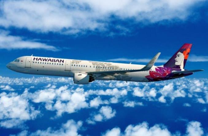 A321neo авиакомпании Hawaiian