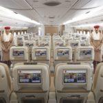 Новый интерьер салонов А380 авиакомпании Emirates