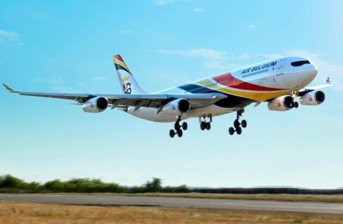 A340 авиакомпании Air Belgium