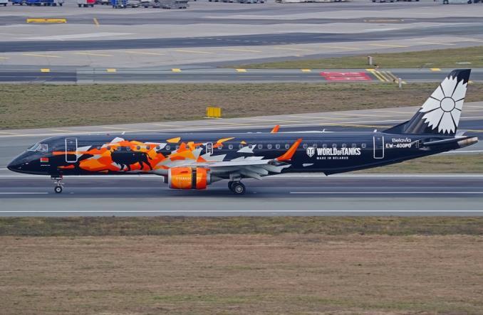 """Embraer E195 авиакомпании """"Белавиа"""""""